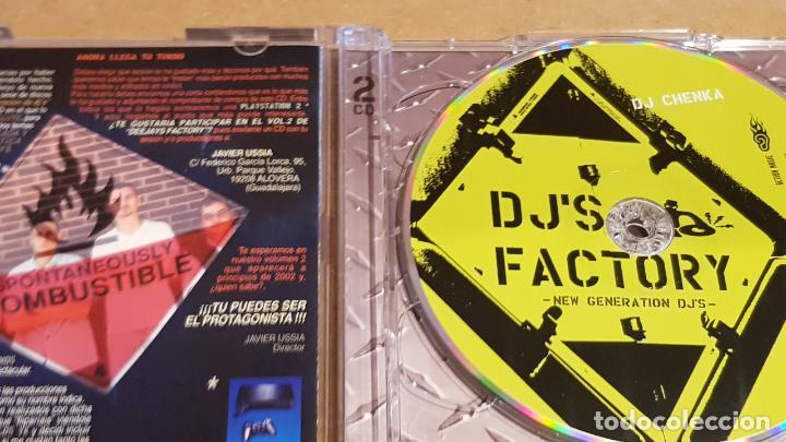 CDs de Música: DJS FACTORY / NEW GENERATION DJS / DOBLE CD-ACTION MUSIC / 37 TEMAS / LUJO. - Foto 2 - 155929194