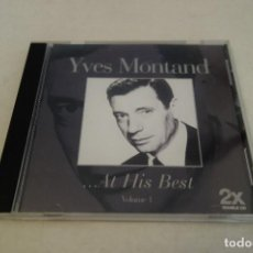 CDs de Música: YVES MONTAND. ... AT HIS BEST. VOLUME 1. 20 CANCIONES.. Lote 155934634