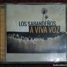 CDs de Música: LOS SABANDEÑOS (A VIVA VOZ) CD 2012. Lote 155956590