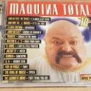 CDs de Música: MAQUINA TOTAL 10 / DOBLE CD - MAX MUSIC-1997 / 29 TEMAS / CALIDAD LUJO.. Lote 161281661