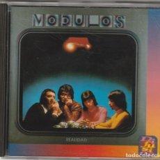 CDs de Música: MODULOS - REALIDAD (CD DIFUSION / HISPAVOX 1994). Lote 155970470