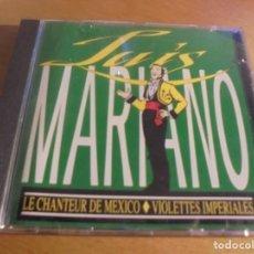 CDs de Música: RAR CD. LUÍS MARIANO. LE CHANTEUR DE MEXICO & VIOLETTES IMPERIALES. FRANCE. Lote 155976666