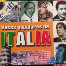CDs de Música: VOCES POPULARES DE ITALIA. Lote 155977697