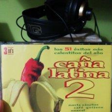 CDs de Música: CAÑA LATINA 2 - VARIOS (SOLO CD 2 Y 3). Lote 155984114
