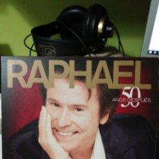 CDs de Música: RAPHAEL - 50 AÑOS DESPUÉS (OJO, SOLO CAJAS Y LIBRITO). Lote 155984641