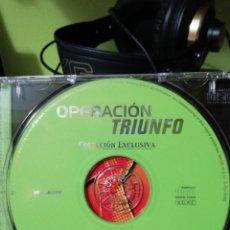 CDs de Música: OPERACIÓN TRIUNFO - POP NACIONAL - 2002. Lote 155985674