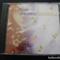 CDs de Música: BLUE DREAMS. LAS BANDAS SONORAS MÁS RELAJANTES DE TODOS LOS TIEMPOS. CD.. Lote 155987410
