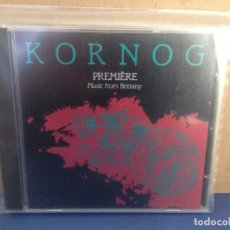 CDs de Música: KORNOG - PREMIERE (FOLK BRETAÑA) ALBUM CD 1984 GREEN LINET USA. NM - NM. Lote 155987554