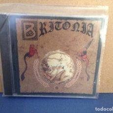 CDs de Música: BRITONIA - BRITONIA (FOLK CELTA GALIZIA) RARO ALBUM CD 1998. NM - NM. Lote 155989570