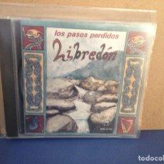 CDs de Música: LIBREDÓN - LOS PASOS PERDIDOS (FOLK CELTA) RARO ALBUM CD 1998. NM - NM. Lote 155989870