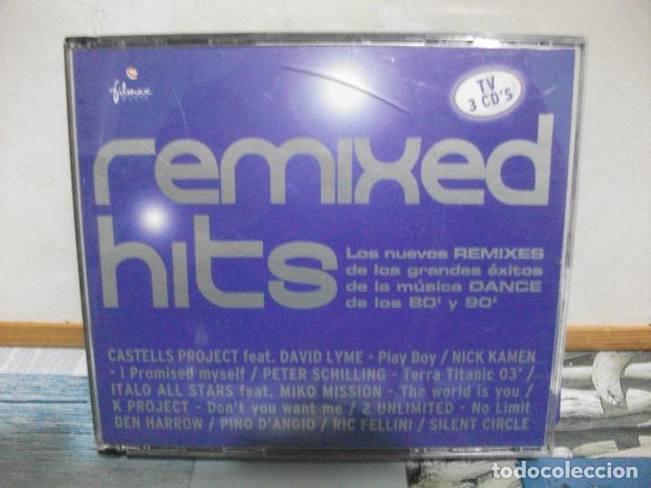REMIXED HITS TRIPLE CD NUEVO¡¡¡¡ (Música - CD's Disco y Dance)