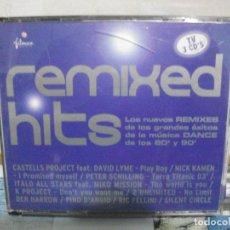CDs de Música: REMIXED HITS TRIPLE CD NUEVO¡¡¡¡. Lote 155990538