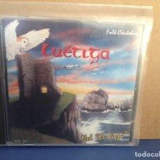CDs de Música: LUÉTIGA - NEL 'EL VIEJU' (FOLK CANTABRIA ) RARO ALBUM CD 1994. NM - NM. Lote 155990886