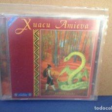 CDs de Música: XUACU AMIEVA - XOSTRANDO (FOLK ASTURIES ) RARO ALBUM CD 1998 FONO ASTUR. NM - NM. Lote 155991082