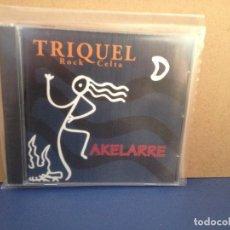 CDs de Música: TRIKEL - AKELARRE (FOLK METAL, ROCK CELTA ) RARO ALBUM CD 1996. NM - NM. Lote 155991406