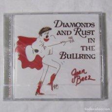 CDs de Música: CD DIAMONDS AND RUSTIN THE BULLRING JOAN BAEZ. Lote 155993254