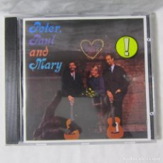 CDs de Música: ROUSING ... AND REAL THE FOLK SINGERS THREE: PETER, PAUL AND MARY. Lote 155993454