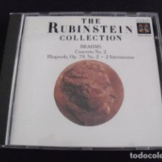 CDs de Música: THE RUBINSTEIN COLLECTION. BRAHMS CONCERTO NO. CD. Lote 155994570