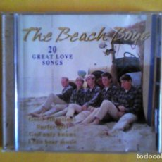 CDs de Música: THE BEACH BOYS - 20 GREAT LOVE SONGS CD MUSICA. Lote 156005546