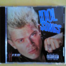 CDs de Música: BILLY IDOL - SONGS 11 OF THE BEST CD MUSICA . Lote 156005834