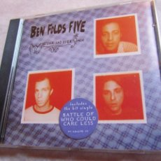 CDs de Música: BEN FOLDS FIVE- CD- TITULO WHATEWER AND EVER AMEN- 12 TEMAS-ORIGINAL DEL 97- NUEVO ABIERTO. Lote 156006318