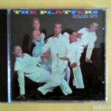 CDs de Música: THE PLATTERS - GOLDEN HITS CD MUSICA . Lote 156006926