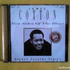 CDs de Música: JAMES COTTON - TWO SIDES OF THE BLUES CD MUSICA - CAJA FINA. Lote 156007346