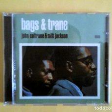 CDs de Música: JOHN COLTRANE & MILT JACKSON - BAGS & TRANE CD MUSICA. Lote 156009322