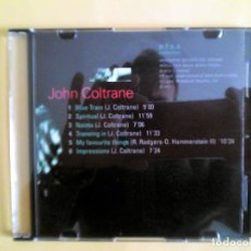 CDs de Música: JOHN COLTRANE - JAZZ MASTERS CD MUSICA - CAJA FINA. Lote 156009498