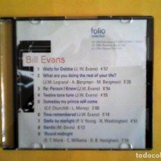 CDs de Música: BILL EVANS - JAZZ MASTERS CD MUSICA - CAJA FINA. Lote 156009562