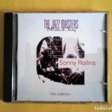 CDs de Música: SONNY ROLLINS - JAZZ MASTERS CD MUSICA . Lote 156009794