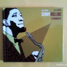 CDs de Música: SONNY ROLLINS - EL MOMENTO CD-LIBRO MUSICA. Lote 156009894