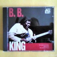 CDs de Música: B.B.KING - JAZZ & BLUES CD MUSICA . Lote 156010018