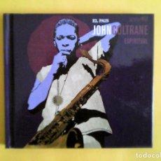 CDs de Música: JOHN COLTRANE - ESPIRITUAL CD-LIBRO MUSICA. Lote 156010226