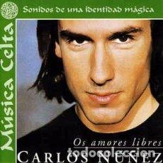 CDs de Música: CARLOS NÚÑEZ - OS AMORES LIBRES (CD, ALBUM) LABEL:BMG ESPAÑA, ARIOLA, RBA (2) CAT#: 74321 737472 . Lote 156015422