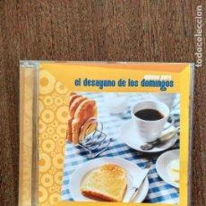 CDs de Música: CD MUSICA PARA EL DESAYUNO DE LOS DOMINGOS NYMAN OLDFIELD MALIKIAN PIAZZOLLA. Lote 156034994