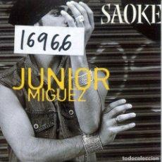 CDs de Música: JUNIOR MIGUEZ / SAOKE (CD SINGLE CARTON PROMO 2003). Lote 156046042