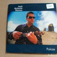 CDs de Música: RARE PROMO CD SINGLE JOSE ANTONIO RAMOS - POLCAS - CRIN SPAIN 1999 VG+. Lote 156097382
