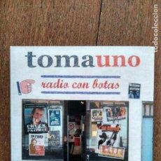 CDs de Música: 2 CD Y DVD TOMAUNO RADIO CON BOTAS. Lote 156125022