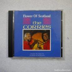 CDs de Música: THE CORRIES - FLOWER OF SCOTLAND - CD 1993 . Lote 156168322