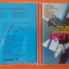 CDs de Música: MUSICA DANCE PARA PRACTICAR AEROBIC CD 1999 CON PISTA PARA PC REVISTA WOMAN. Lote 156197890