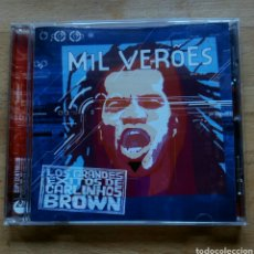 CDs de Música: LOS GRANDES ÉXITOS DE CARLINHOS BROWN - MIL VERÕES. CD 2004 EMI BRAZIL.. Lote 156223316