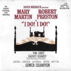 CD de Música: I DO¡ IDO¡. MARY MARTIN. ROBERT PRESTON. ORIGINAL BROADWAY CAST. CD.NUEVO.. Lote 190166447