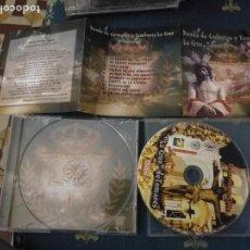 CDs de Música: CD SEMANA SANTA SEVILLA TOMARES BANDA DE CORNETAS Y TAMBORES EN UN MISMO CIELO. Lote 156288578