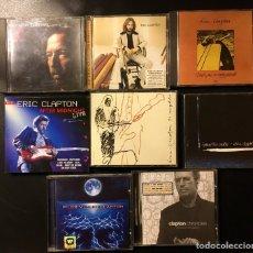 CDs de Música: LOTE DE 8 CD ERIC CLAPTON. Lote 156321552