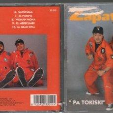 CDs de Música: ZAPATO VELOZ / PA TOKISKI / CD ALBUM HORUS RF-830. Lote 156454030