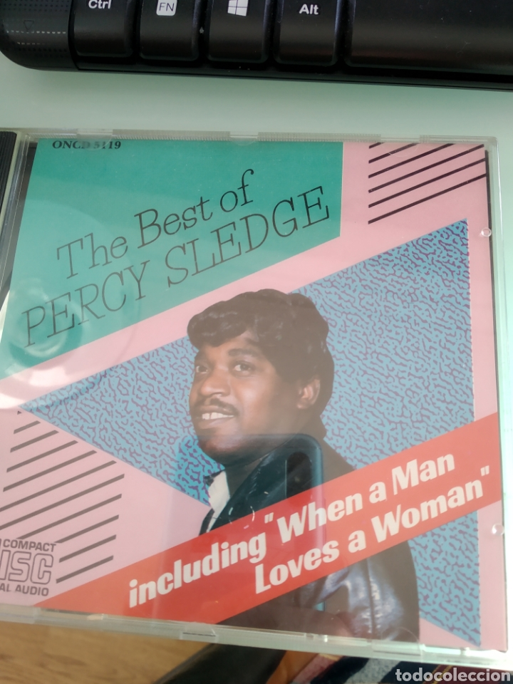 PERCY SLEDGE ‎– THE BEST OF PERCY SLEDGE (Música - CD's Jazz, Blues, Soul y Gospel)