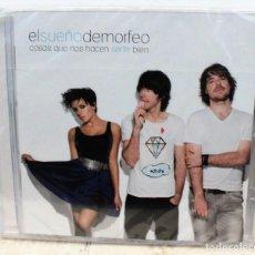 CDs de Música: CD - EL SUEÑO DE MORFEO - COSAS QUE NOS HACEN SENTIR BIEN - NUEVO PRECINTADO. Lote 156470430
