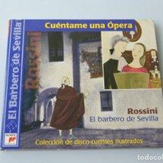 CDs de Música: ROSSINI EL BARBERO DE SEVILLA CD . Lote 156486046