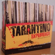 CDs de Música: TARANTINO. PRECIOSO PACK DE 6 CDS. EDICIÓN DE LUJO LIMITADA. TARANTINO EXPERIENCE.. Lote 156491970